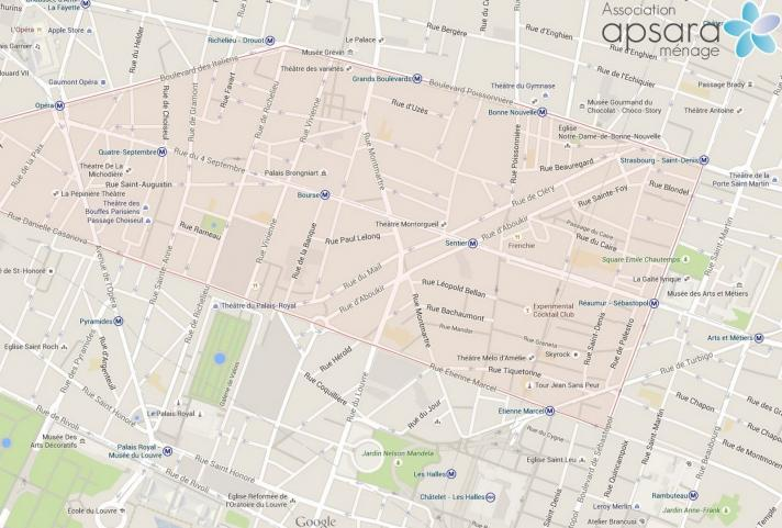 Ménage et repassage 2ème arrondissement de Paris - 75002