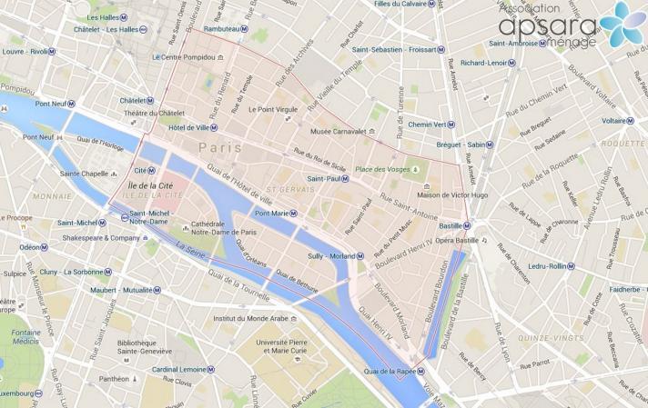 grand ménage de printemps - gros ménage - Paris 4ème arrondissement